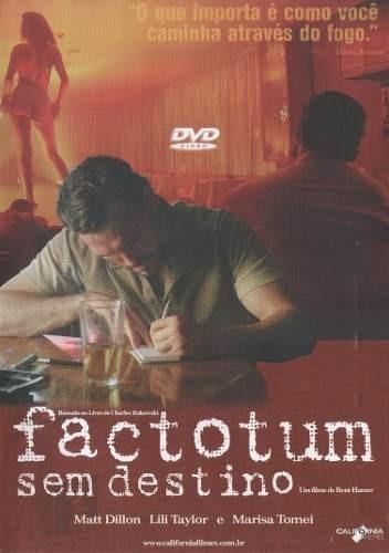 dvd original do filme factotum - sem destino (matt dillon)