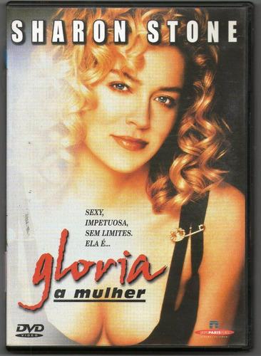 dvd original do filme glória, a mulher (sharon stone)