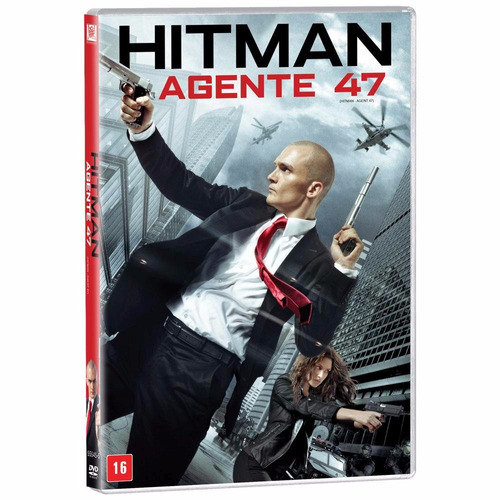 dvd original do filme hitman  - agente 47