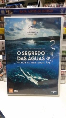 dvd original do filme  japonês o segredo das águas