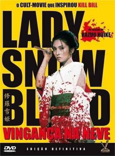 dvd original do filme lady snow blood (capa rasurada) 2 disc