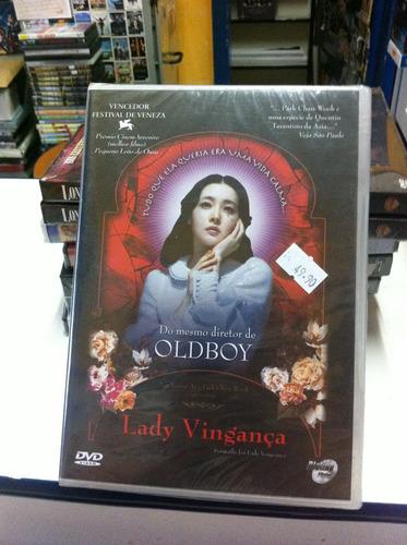 dvd original do filme lady vingança (lacrado)