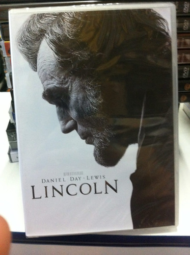 dvd original do filme lincoln (daniel day-lewis) lacrado