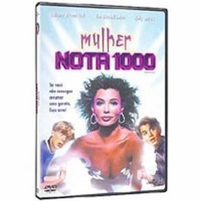 dvd original do filme mulher nota 1000