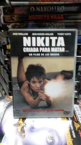 dvd original do filme nikita - criada para matar