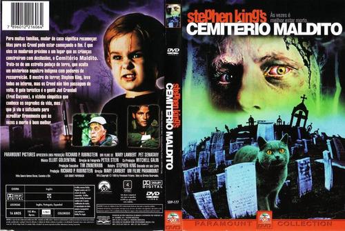 dvd original do filme o cemitério maldito