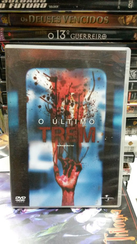dvd original do filme o ultimo trem (brooke shields)
