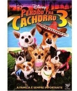 dvd original do filme perdido pra cachorro 3