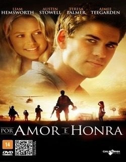 dvd original do filme por amor e honra (liam hemsworth)
