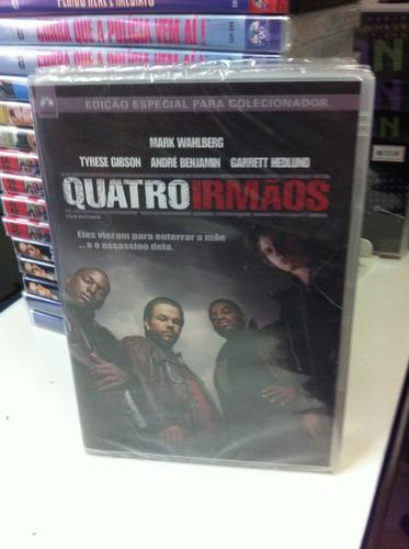 dvd original do filme quatro irmãos (mark wahberg) lacrado