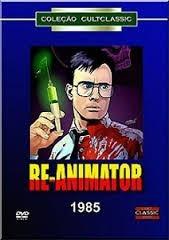 dvd original do filme re-animator (1985)