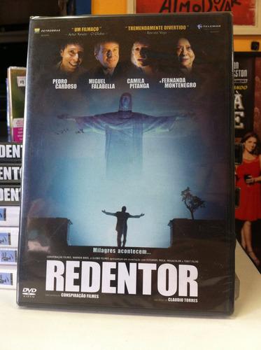 dvd original do filme redentor (lacrado)