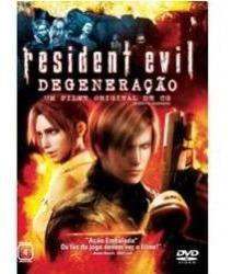 dvd original do filme resident evil - degeneração