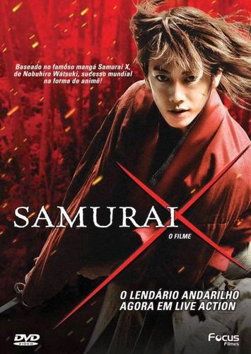 dvd original do filme samurai x- o filme