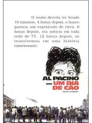 dvd original do filme um dia de cão (al pacino)