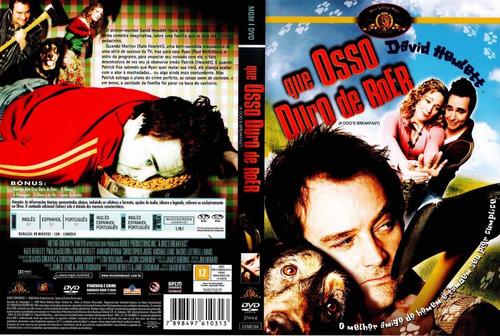 dvd original do filme um osso duro de roer (david hewlett)