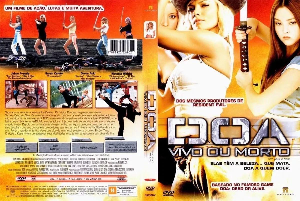 Dvd Original Doa Vivo Ou Morto Dead Or Alive Filme R 12