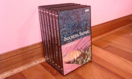 dvd original, documentales/ india,indonesia y africa salvaje
