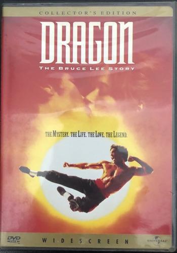dvd original dragón la historia de bruce lee