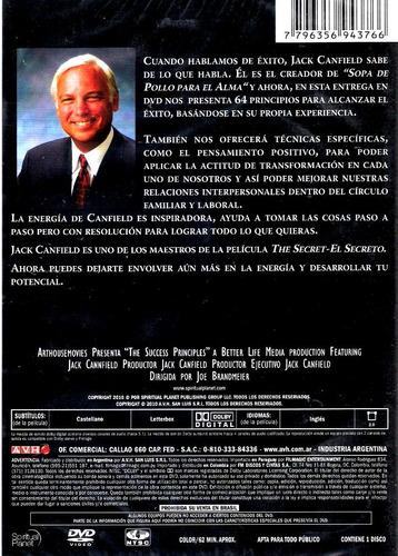 dvd original : el secreto del exito - jack canfield success