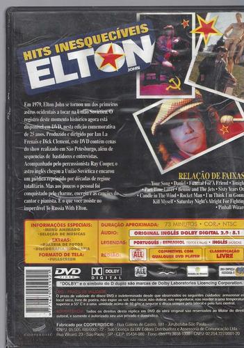 dvd original elton john  (cx 11) ok