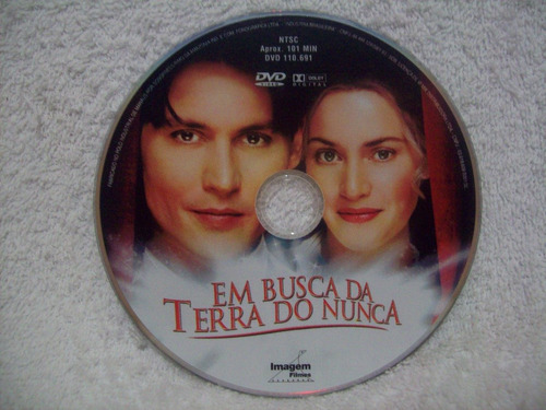 dvd original em busca da terra do nunca- com johnny depp