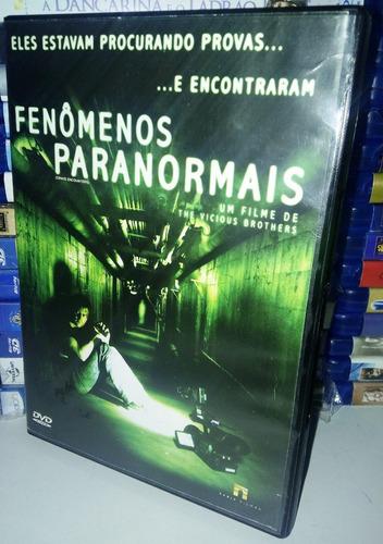 dvd original - fenômenos paranormais - filme - terror