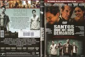 dvd original  filme santos e demônios - dublado