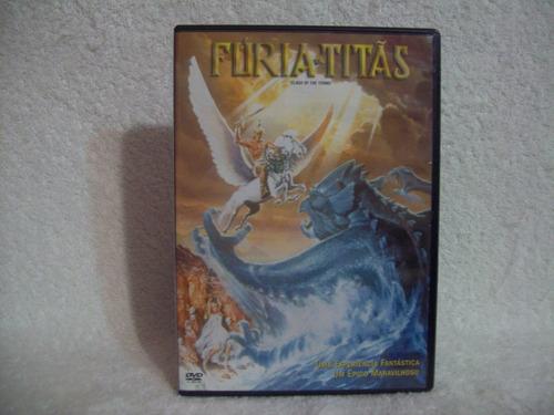 dvd original fúria de titãs
