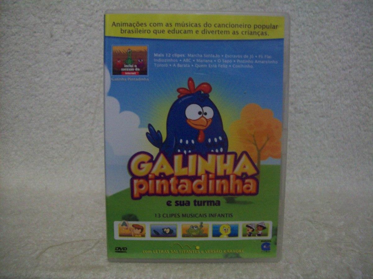 o dvd da galinha pintadinha e sua turma