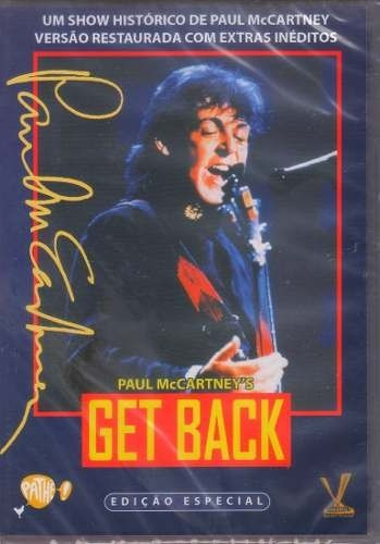 dvd original get back paul mccartney