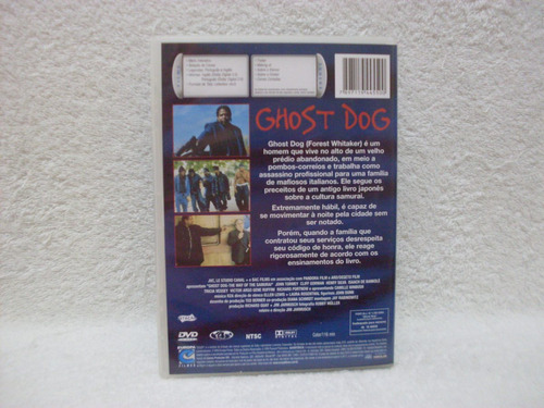 dvd original ghost dog