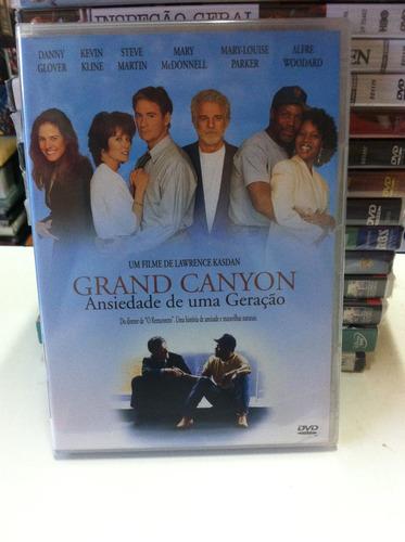 dvd original grand canyon-ansiedade de uma geração (lacrado)