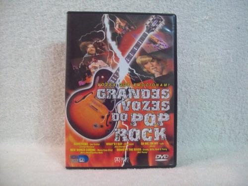 dvd original grandes vozes do pop rock
