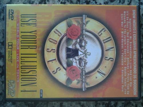 dvd original guns n' roses - use your illusion 1
