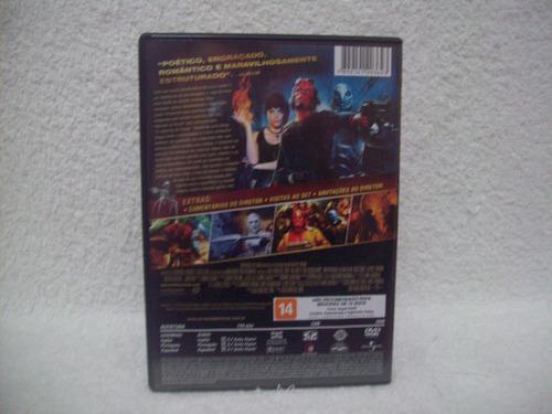 dvd original hellboy- o exército dourado