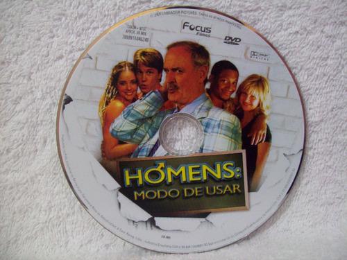 dvd original homens: modo de usar