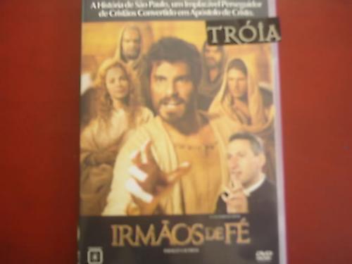 dvd original   irmãos de fé
