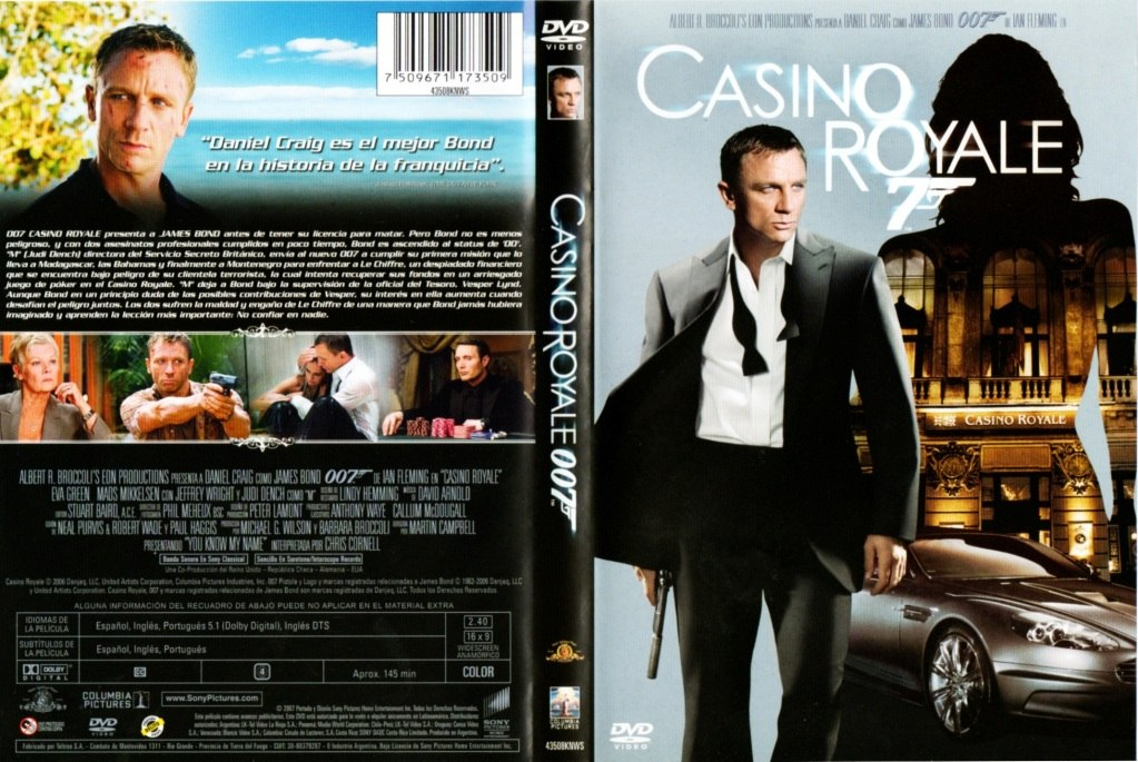 james bond casino royale dvd