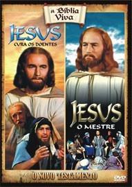 dvd original - jesus a cura dos doentes / jesus - o mestre
