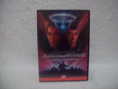 dvd original jornada nas estrelas- a última fronteira