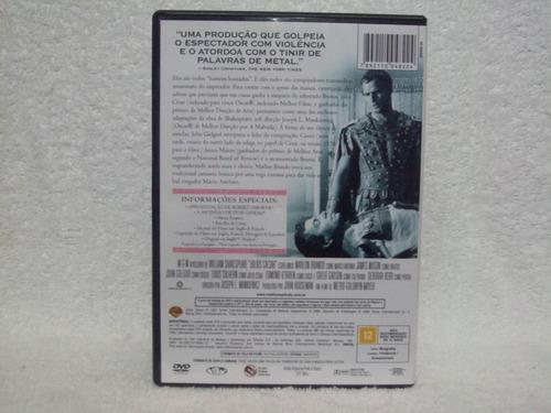 dvd original júlio césar- com marlon brando