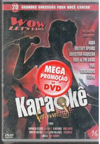 Dvd Original Karaoke Wow Let's Dance Vl 16 (cx 32) Ok