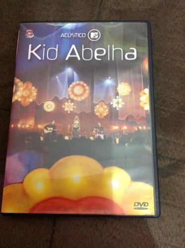 dvd original kid abelha acústico