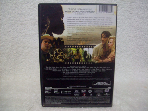 dvd original king kong