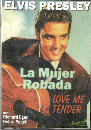 dvd original la mujer robada love me tender elvis presley en mercado libre. Black Bedroom Furniture Sets. Home Design Ideas
