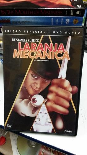 dvd original laranja mecânica [edição especial] (duplo)