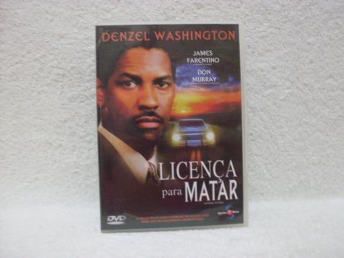 dvd original licença para matar- com denzel washington