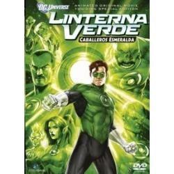 dvd original : linterna verde los caballeros esmeralda dc co