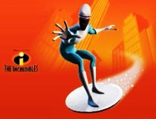 dvd original : los increibles - dibujo animado disney pixar